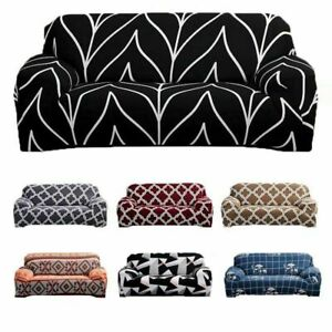 1 2 3 4 Seater Sofa Covers Multicolored Elastic Stretch Slipcover Protector Set