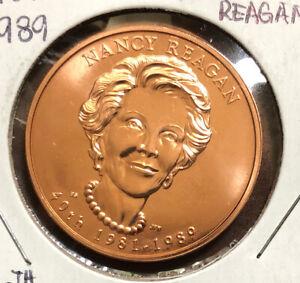 2016 First Spouse 1981-1989 Nancy Reagan Bronze Collectible Medal
