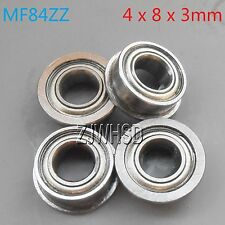4pcs MF84zz Sealed Flange Bearing 4 x 8 x 3 mm for TAMIYA TRAXXAS RC Hobby DIY