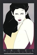 Patrick Nagel THE PAPERBACK BOOK Rare Lithograph Out of Print New 1981 24x36