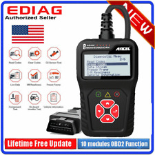 Automotive OBD2 Scanner Car Diagnostic Tool EOBD Code Reader Check Engine Fault