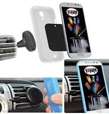 Uni KFZ Magnethalterung Lüftung f Samsung Galaxy Y Pro Duos B5512