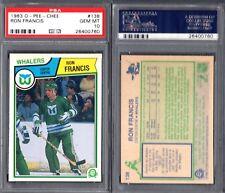 PSA 10 1983-84 O-Pee-Chee #138 Ron Francis POP22 Hartford Whalers G00 1830