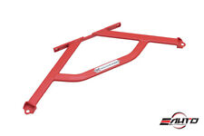 MEGAN Front Lower H Brace Bar for FRS FR-S BRZ GT86 FT86 Toyota 86 13-16 - Red