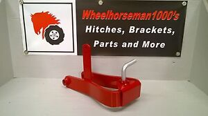 Toro Wheel Horse Brinly Clevis Hitch Sleeve Hitch with adjustment plate and pin