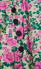 Zara Pink Floral Ruffled Hem Voluminous Mini Dress, Size M-BNWT