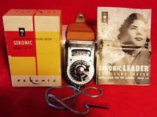 SEKONIC ~ PHOTOELECTRIC EXPOSURE METER ~ in ORIGINAL BOX With INSTRUCTIONS