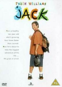 JACK - ROBIN WILLIAMS - NEW & SEALED REGION 4 DVD FREE LOCAL POST