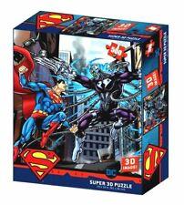 Superman Jigsaw Puzzles 3D Brainiac Comics Gift Set 500 Pieces Dc Justice League