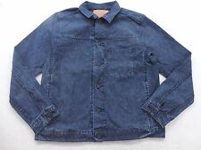 New Levi's Mens 19456 Medium Acid Wash Denim Retro Jean Jacket Size Medium