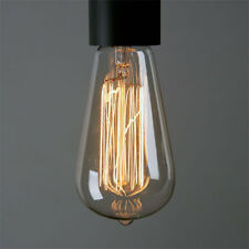 Edison Bulb 40 Watt ST64 13FL Vintage Industrial Lighting Room Patio Bar Decor
