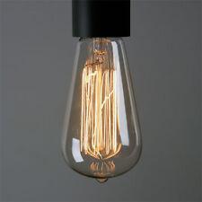 Edison Bulb 40 Watt ST64 13FL Vintage Industrial Lighting Room Patio Bar Decor