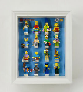 Display Frame for Lego The Simpsons Series 1 minifigures 71005 no figures 28cm