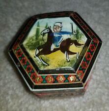 Khatam Jewelry/Trinket/Gift Box Persian Wooden Handcraft Inlaid Micromosaic Art