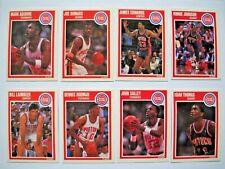 Detroit Pistons Bad Boys Basketball Trading Cards Team Set, 1989-90 Fleer