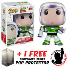 FUNKO POP DISNEY TOY STORY BUZZ LIGHTYEAR #169 VINYL FIGURE + PROTECTOR