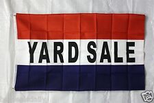YARD SALE flag 3'x5' banner store concession business advertise FREE SHIPPING
