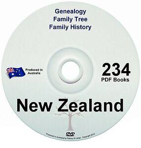 Family History Tree Genealogy New Zealand Free Postage
