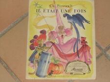 Il était une fois - contes Charles Perraults illustrés par des vignettes /Menier