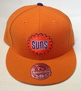NBA Phoenix Suns Mitchell and Ness Fitted Cap Hat M&N TK07M NEW!