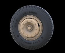 "Mercedes 4500 ""Maultier""road wheels (Commercial Pattern), RE35-337, PANZER ART"
