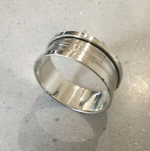 Antique Sterling Silver Napkin Ring. Henry Griffiths & Sons. Birmingham 1932.