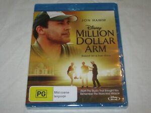 Million Dollar Arm - Jon Hamm - Brand New & Sealed - Region A, B, C - Blu Ray