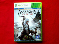 Assasins Creed 3 Xbox 360 * TESTED AND WORKING * COMPLETE