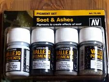 AV Vallejo Soot & Ashes Pigment Set For Models