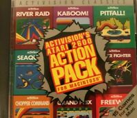 1995 Activision Atari 2600 Action Pack for Macintosh Mac CD ROM - VERY GOOD