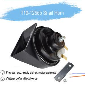 12V 110-125db Waterproof Loud 1 Pc Snail Air Horn For Car Motorcycle Boat Van
