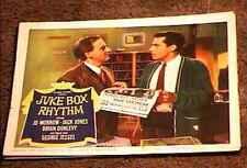 JUKE BOX RHYTHM 1959 LOBBY CARD #8 HEADLINES MUSIC