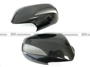 For 08-12 Hyundai Genesis Rohens Coupe Carbon Fiber Rearview Side Mirror Cover