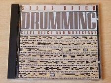 Steve Reich/Drumming/1987 CD Album