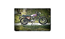 1967 bsa b44 Bike Motorcycle A4 Photo Poster