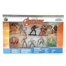 Marvel Avengers Nano Metalfigs 10 Pack Figures W/ Exclusives! Collector's set