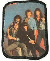 HELLOWEEN - Old OG Vtg 1980`s Printed Patch Sew On Kiske Aufnäher/écusson/parche