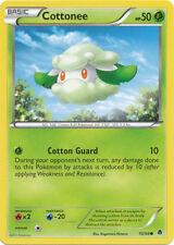 Cottonee Common Pokemon Card BW2 Emerging Powers 10/98