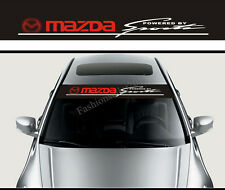 Reflective Front Windshield Decal Vinyl Car Stickers for Mazda Sports Accessorie