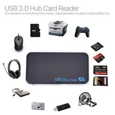USB 3.0 All In One Multi Memory Card TFLASH Reader CF Micro SD HC SDXC