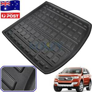 Heavy Duty Waterproof Cargo Rubber Mat Boot Liner For Ford Everest 2015-2020