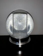Snow Globe With Double Sided Picture Frame Inside
