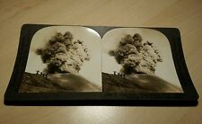 "Stereoview ""A Volcanic Eruption in Java"""