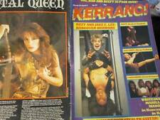 Kerrang March 22-April 4 Magazine #64-Ozzy & Jake E Lee/Ratt/Daltrey/Vandenb