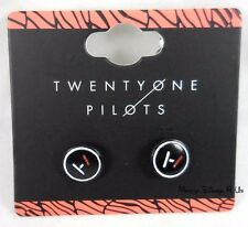 New 21 Twenty One Pilots Band Logo Symbols Earrings Post Insertion Studs