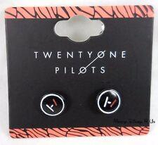 New 21 Twenty One Pilots Band Logo Symbols Earrings Post Insertion Studs