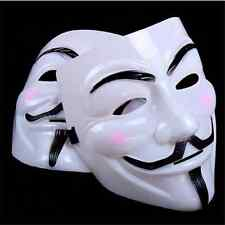 V for Vendetta Mask Anonymous Guy Fawkes Fancy Dress Adult Costume coXNlay GH