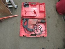 Hilti Te 70 Atc Avr Hammer Drill Amp Carrying Case With 2 Sds Max Milwaukee