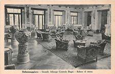 Cartolina - Postcard - Salsomaggiore - Grande Albergo Centrale Bagni - anni '30