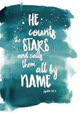 He Count the Stars and Call & Them All by Name Psalm 147: 4: 120  9781546710400